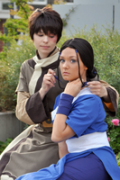 ATLA: Zuko and Katara by Aigue-Marine