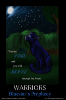 Bluestar's Prophecy-Cover by LindsayPrower