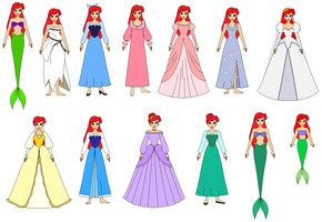 Ariel All dress by PPsantos1989