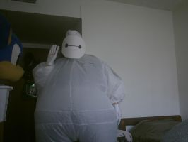 Completed Baymax cosplay by Surferbrg