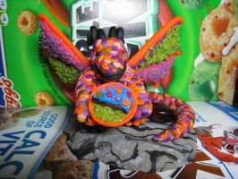 Marzipan: Dragon God of Candy by skookyspry