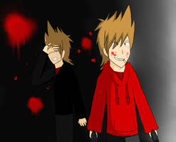 Eddsworld: Two Sides of a Bullet - Which is Which? by CrasherMang