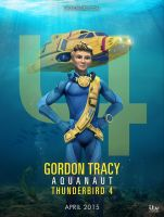 Thunderbird Are Go - 4 - Gordon Tracy - Poster by Jackardy