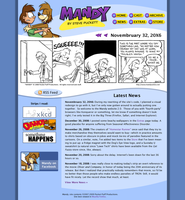 mandycomics.net 2.0 beta by stevethepocket