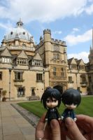 Ciel and Sebastian in Brasenose college. by Melkpso