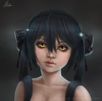 Portrait of Lilith by revuse