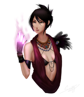 Morrigan (Dragon Age) by SoulTribute13