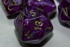 Dice Close-Up I by silverspoken2005