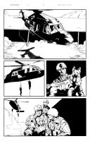 CODE WORD: GERONIMO PAGE 5 INK by aminamat