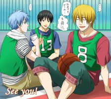 KnB Green Team by baka-kiiro