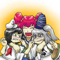 Touhou - Three Sailors by Minon