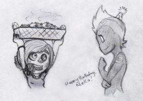 Nel's Birthday 2013 by RedChao