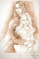 Faramir and Eowyn by cathy-chan