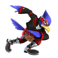 Falco Lombardi (SSB4 costume) update by SmashFan1367