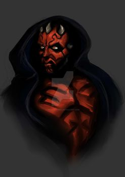 Darth Maul by bekahwithers