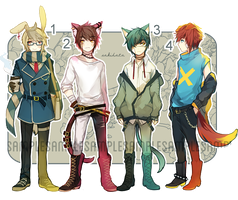 adoptable set auction (closed) ! by sakihata