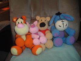 Pooh and Friends by Nanettew9