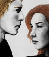 Jace and Clary by TellerofTales