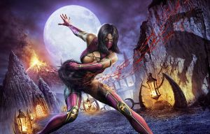 Mileena Wallpaper by HybridFury