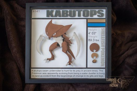 Pokedex #141 KABUTOPS by CuriousFiction