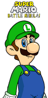 Smiling Luigi by webkinzspongebob