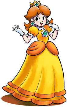 [MM] ''M+L'' RPG Style: Daisy (IT'S A MIRACLE!) by Master-Rainbow