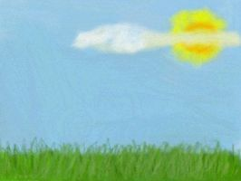 Art Academy - Grass and Sky by Nethilia