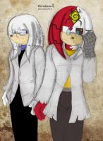 M. Finitevus and Phineas by Dreadmon