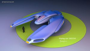 flying car concept by dm3da