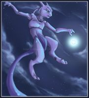 + LOVELY Mewtwo + by chaoslavawolf