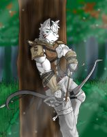 Ess ZX the Hunter [Request] by AlphaMoonlight