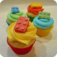 Lego cupcakes by cake4thought