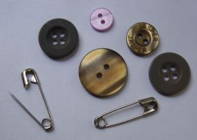 Buttons and Pins... by chop-stock
