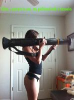 bazooka girl by astuareg