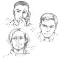 Criminal Minds: Sketches by VulpesLunaris