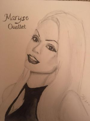 Maryse-WWE Diva (Finished) by Brosaurasrex