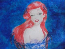 Ariel, the little mermaid by ElisabettaGuarino