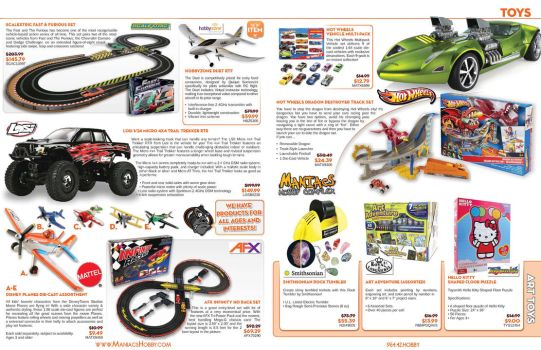Maniacs Hobby Boy Scouts Event Catalog - Pages 4-5 by jPhive