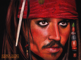 Captain Jack Sparrow by RonnySkoth