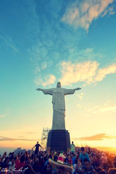 Christ the Redeemer by IsacGoulart