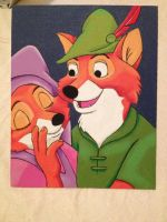 Robin Hood and Maid Marian by MaskedxMaestro