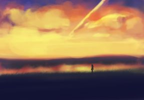 Speedpaint: Landscape by paintausea