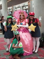 Fanime '10: All gal Mario by SparksMcGhee