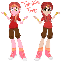 Equestria Girl Twinkle Toes by Strawberry-Spritz