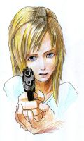 Parasite Eve Aya Brea by 4164120003