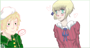 iscribble: collab with liech by PuertoRicoCoffee