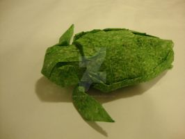 Origami Sea Turtle by amazingorigami