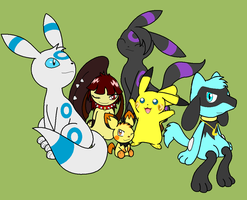 special poke friends-ms paint by lossetta932