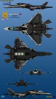 IFX-35G Electric Cygnus (Fully Loaded) by haryopanji