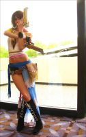 Final Fantasy X-2: Gunner Yuna by SFLiminality